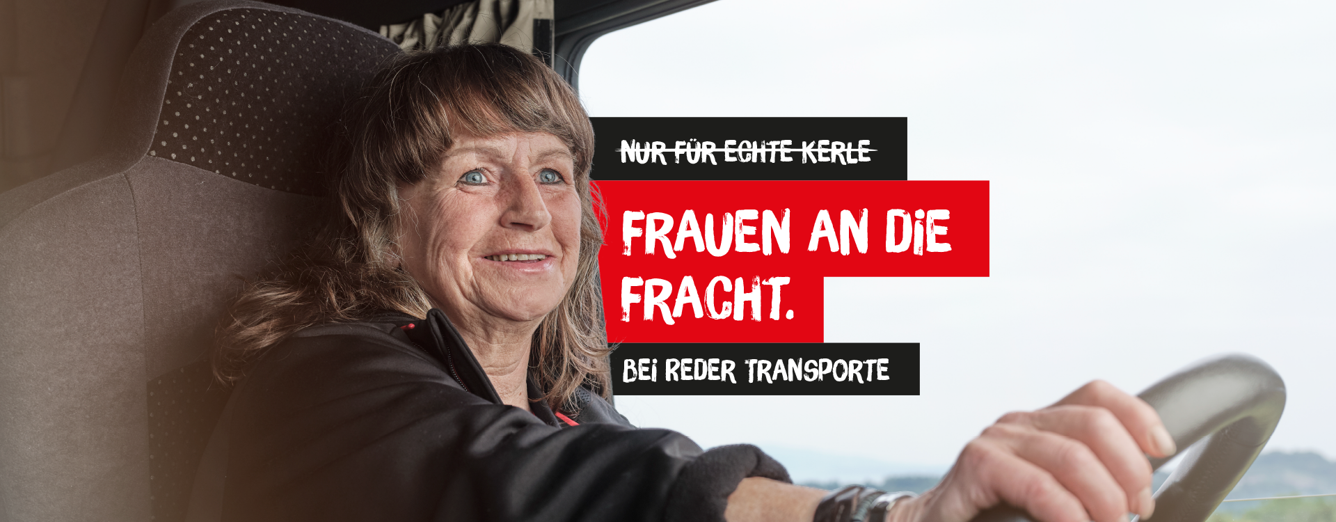 REDER Transporte | Esther | Frauen an die Fracht.